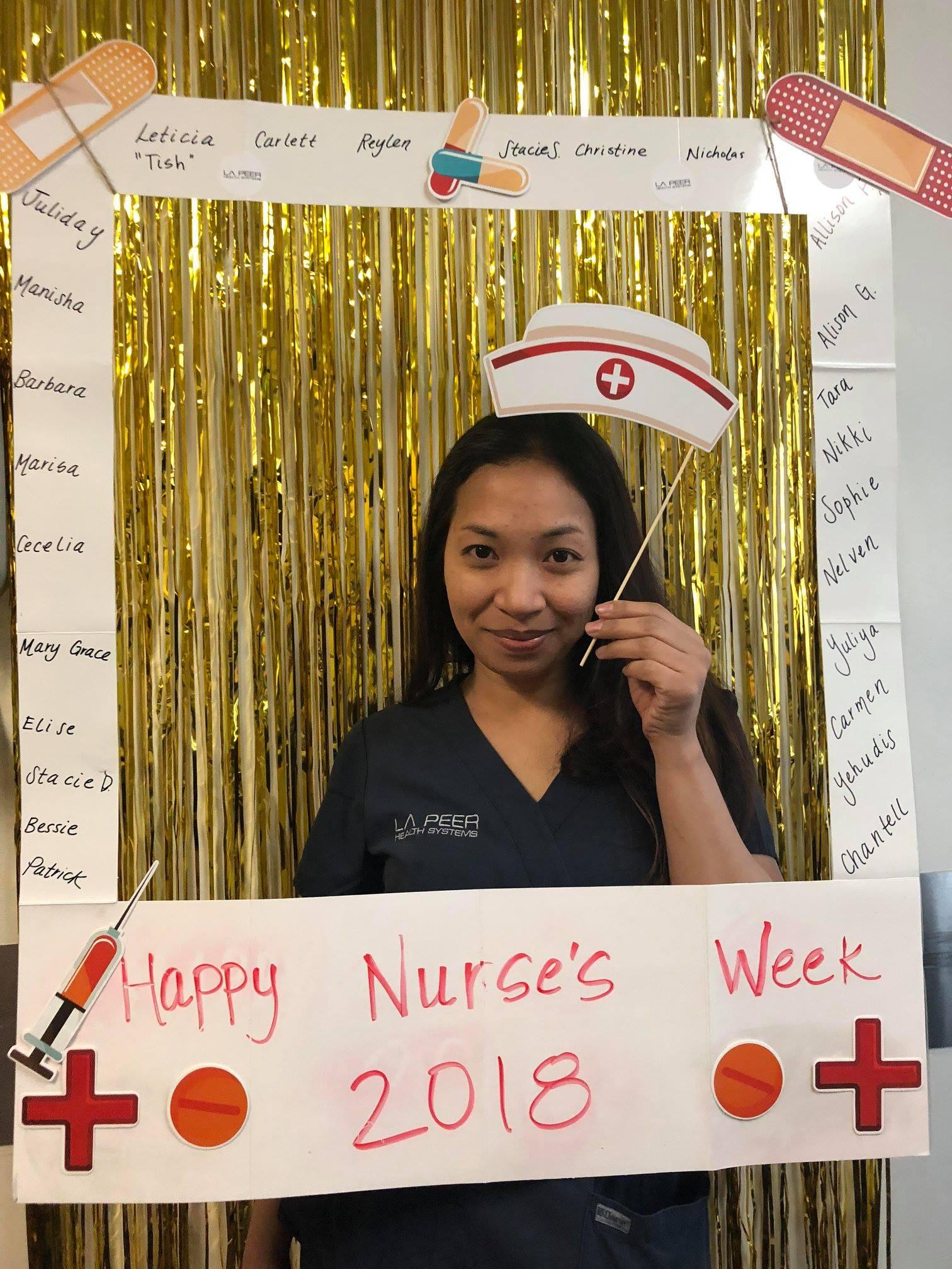 Nurses Week 2018 at la Peer Surgery Center