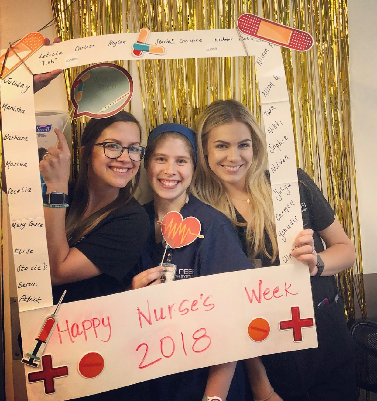 Nurses Week 2018 at la Peer Surgery Center